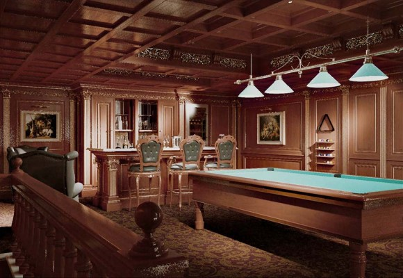 Relax Area Billiard room