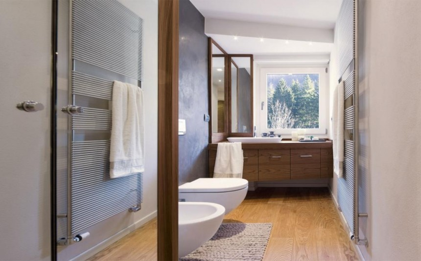 Bathroom Trend Walnut