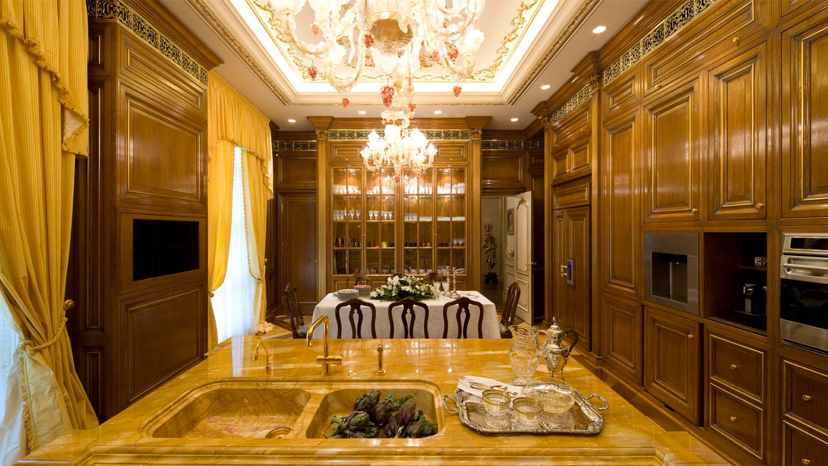 Luxury Italian Kitchens Made To Measure Kitchen With Automation Solutions Elizabeth