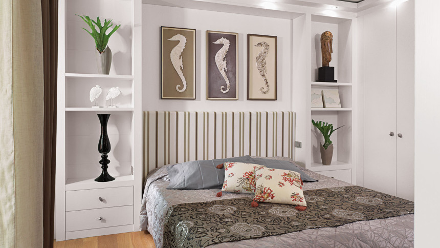 Bedroom Emotion White Oak