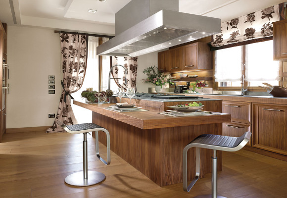 Kitchen Emotion Walnut