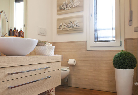 Bathroom Trend Bleached Oak