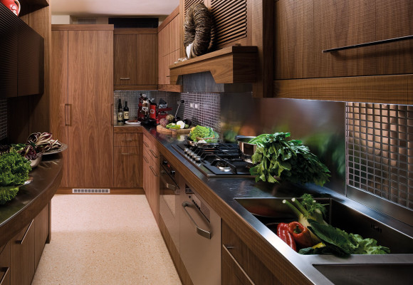 Kitchen Trend Walnut