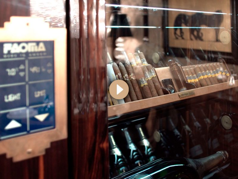 Faoma – Automated wine cellar