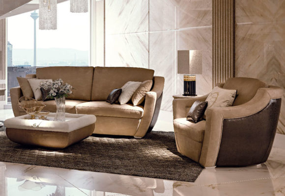 Faoma Modern Leather Sofas