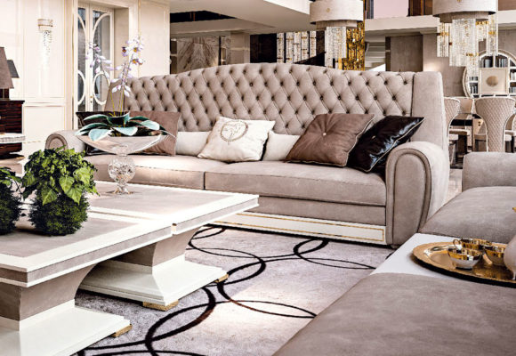 Faoma Grey Living Room