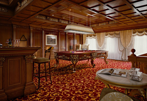Moscow Billiard Room