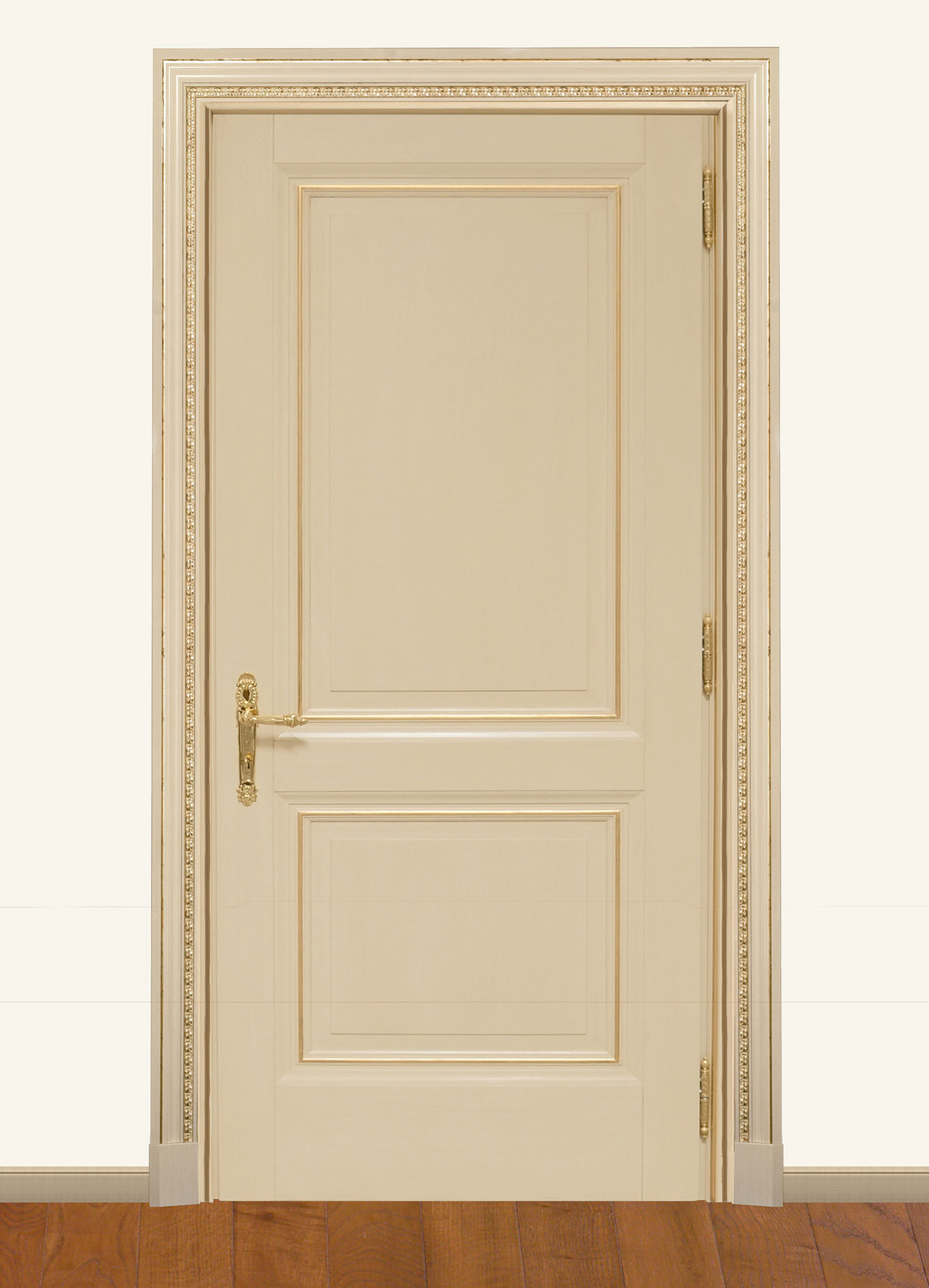 Faoma smooth door in white wood