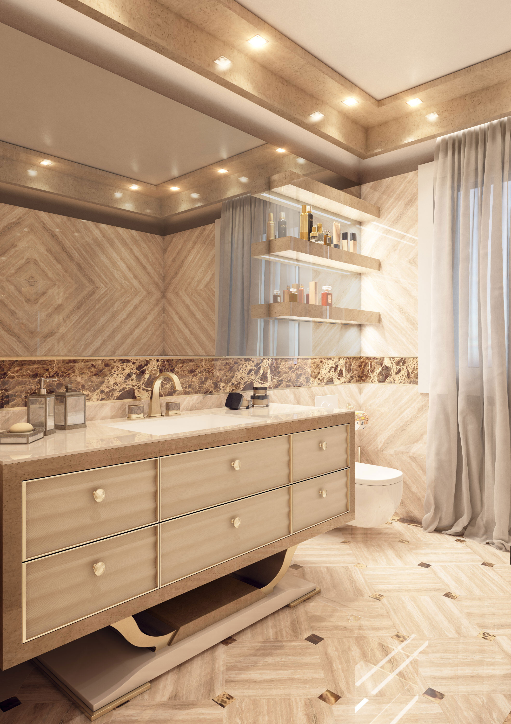 Faoma modern bathroom furniture