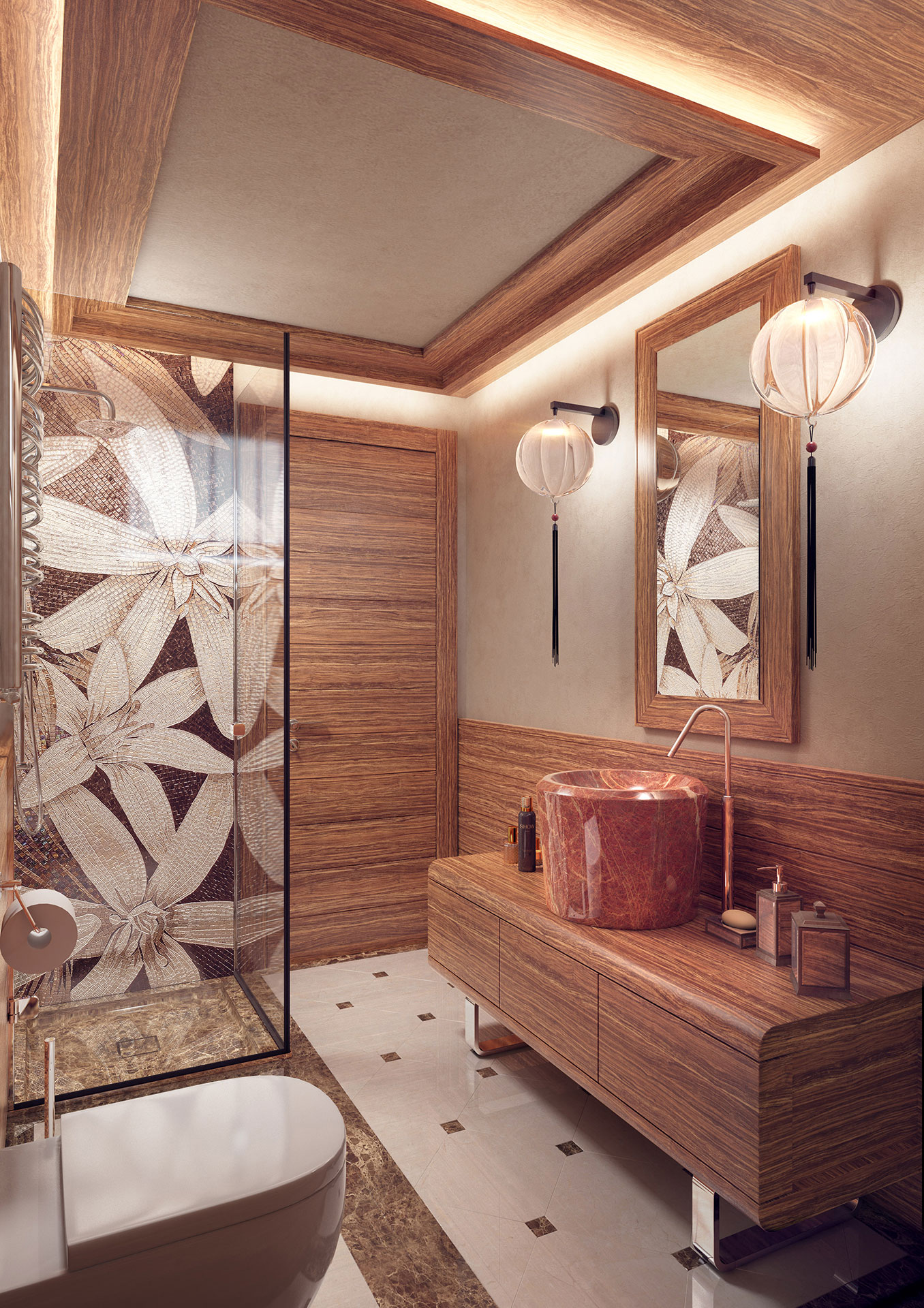 Faoma high-end bathroom