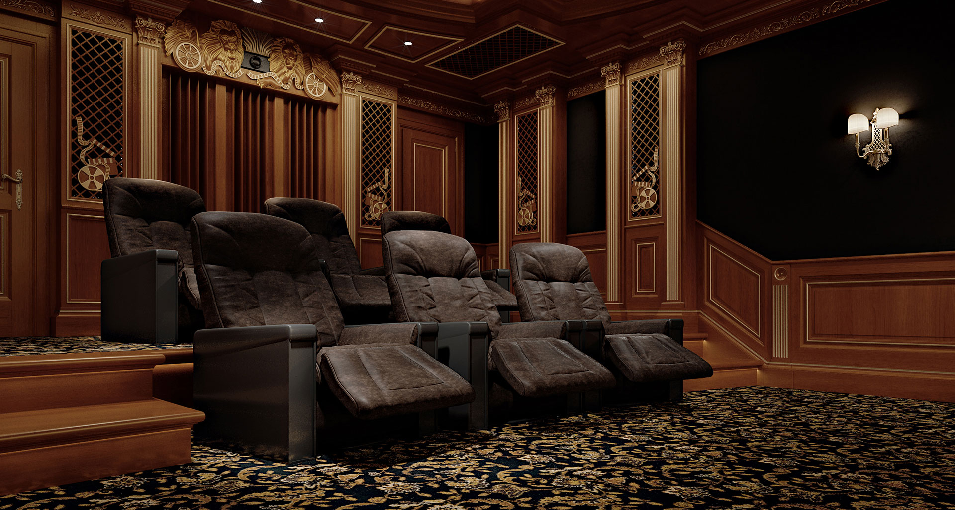 Faoma luxury home theatre