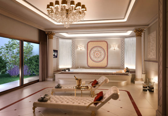 Totally White Spa and Billiard Room
