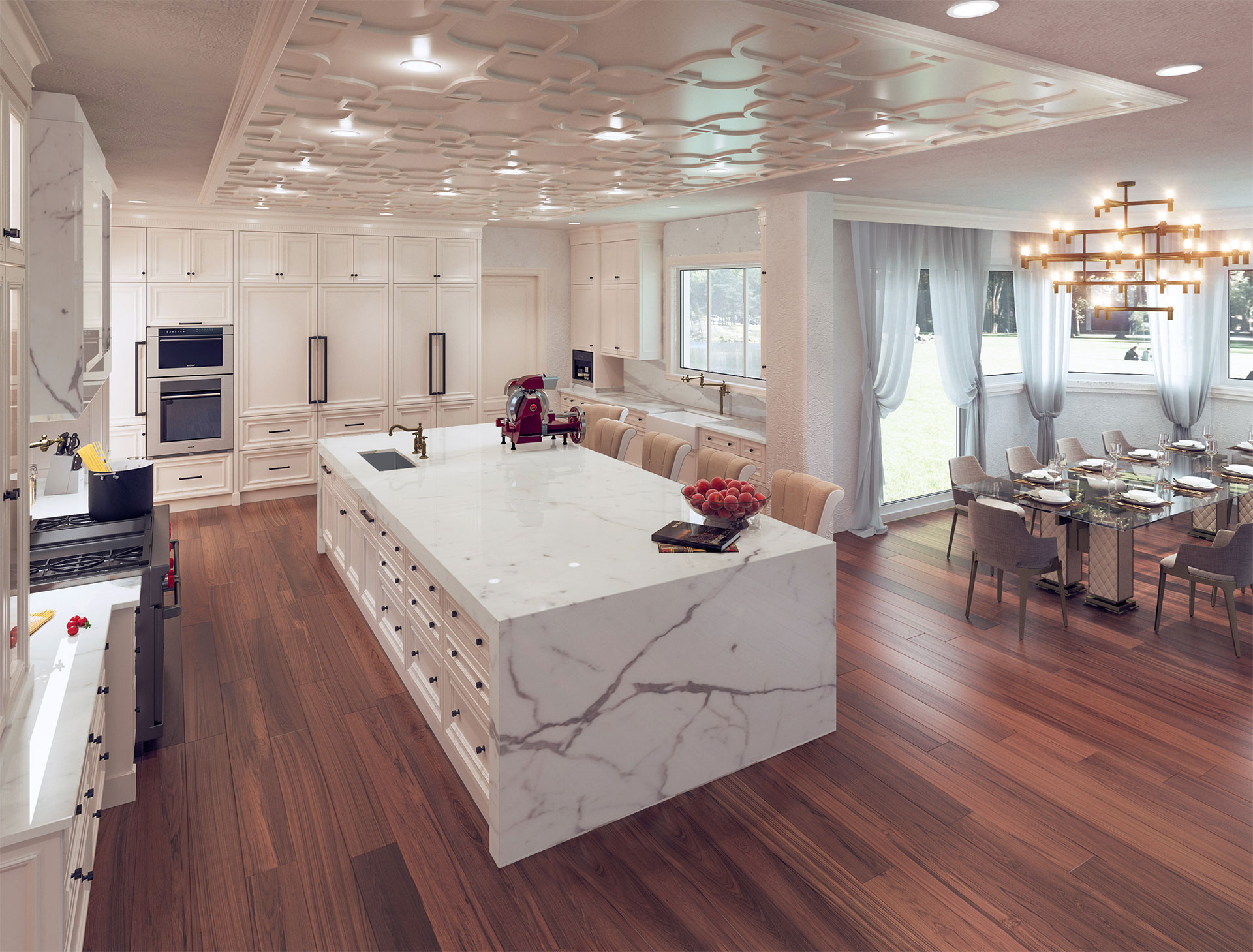 Faoma Luxury White Kitchens