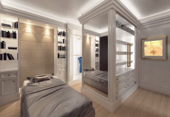 Contemporary Walk-in wardrobes