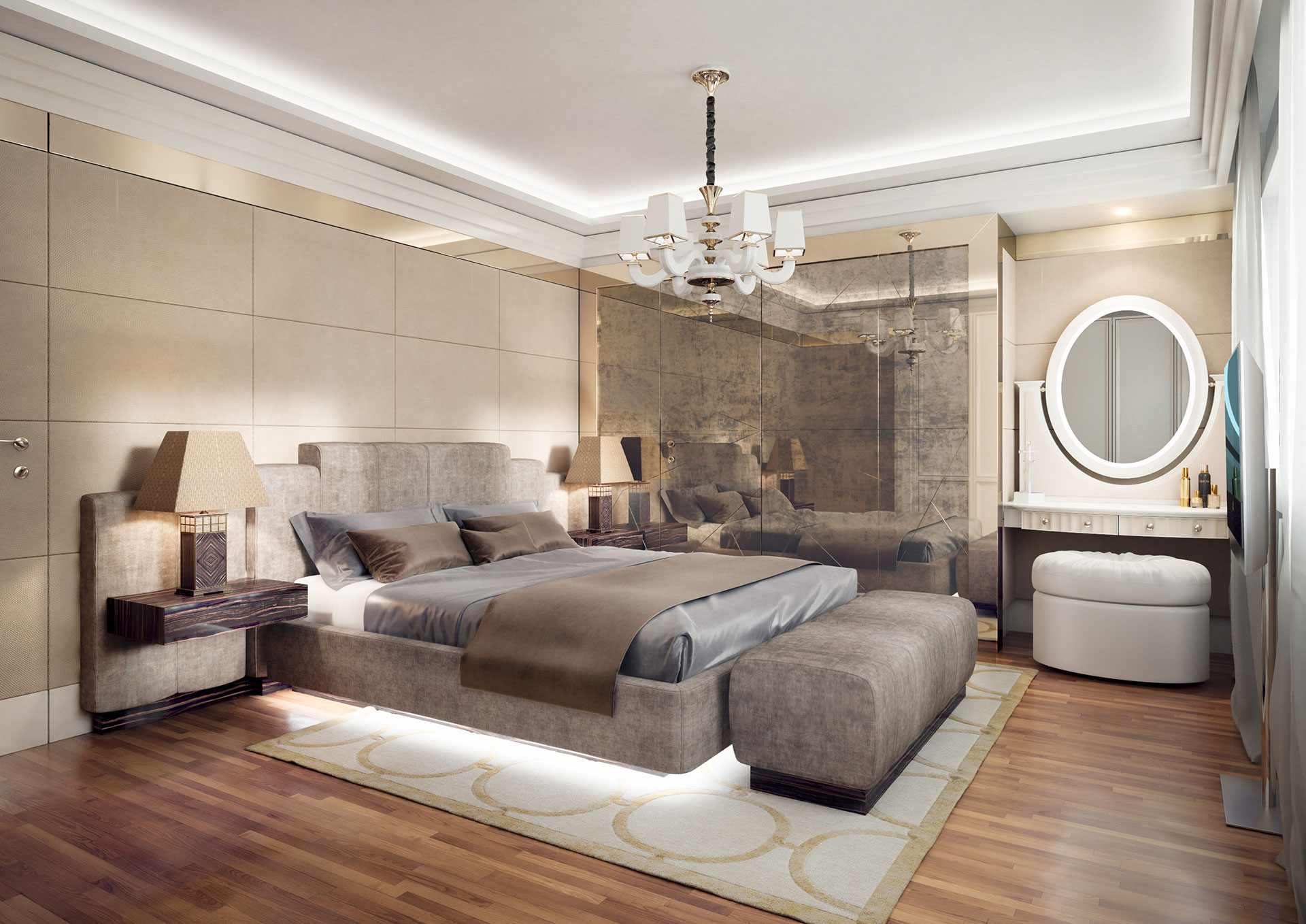 Faoma bespoke design double bedroom
