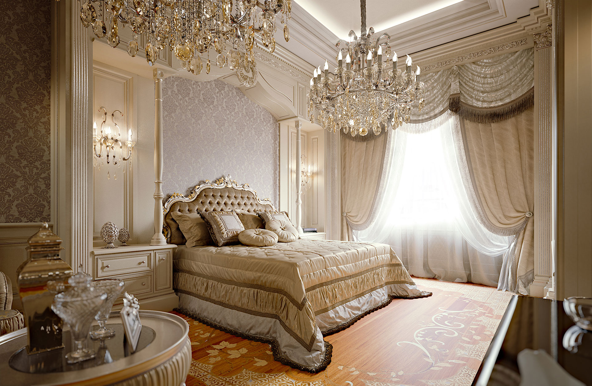 Bespoke Bedroom Elegant And Luxurious Elizabeth