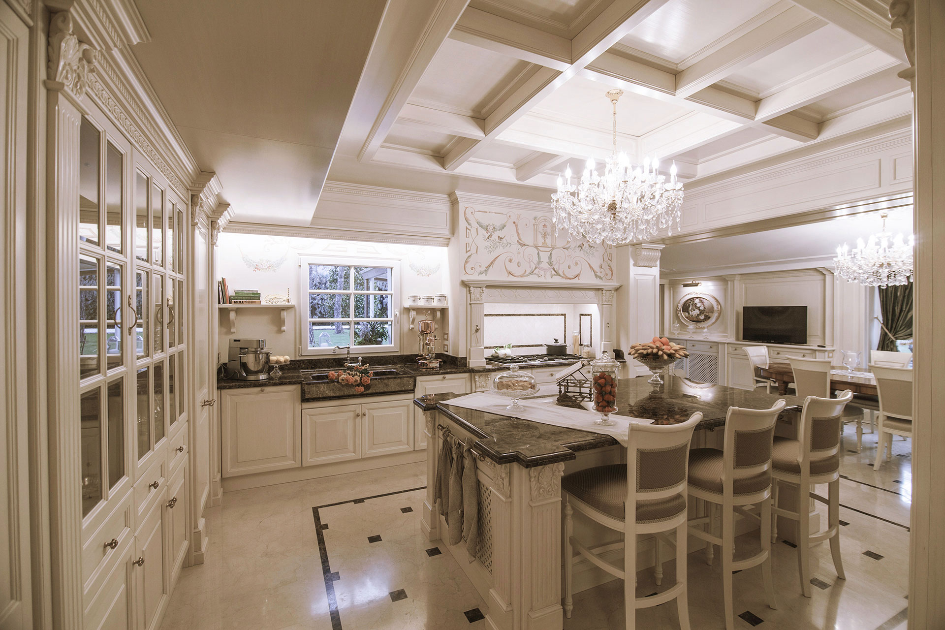 Faoma Custom-Made Kitchen with Island