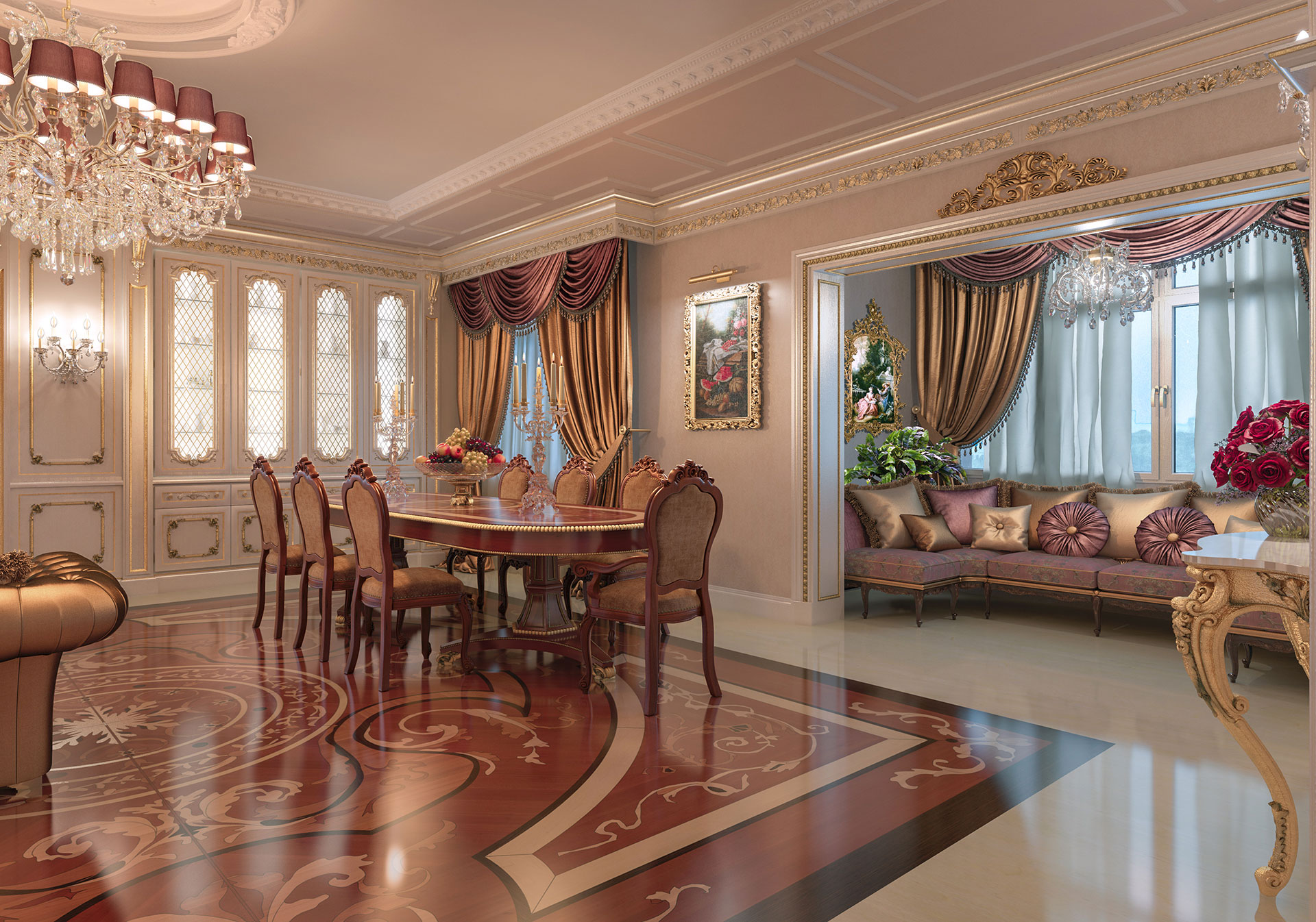 Faoma classic-style dining room