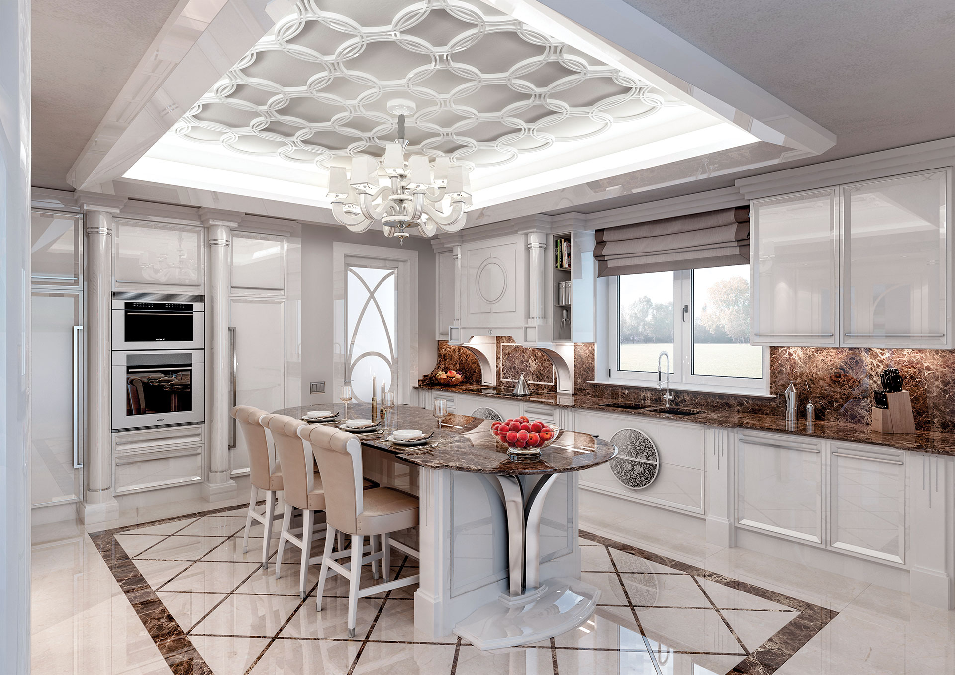 Faoma renderings kitchens