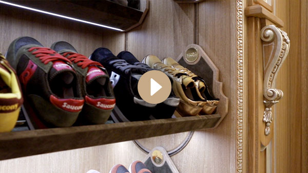 Faoma automations: shoe rack